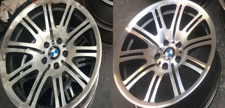 Alloy Wheel Refurbishment Repair Restoration Manchester